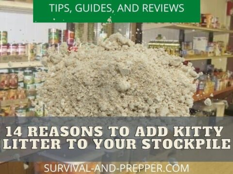 kitty litter to your stockpiles