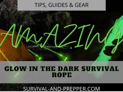 survival rope that glows