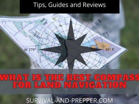 Compass for land nav