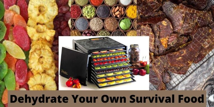 Dehydrating fruits, vegetables and meats