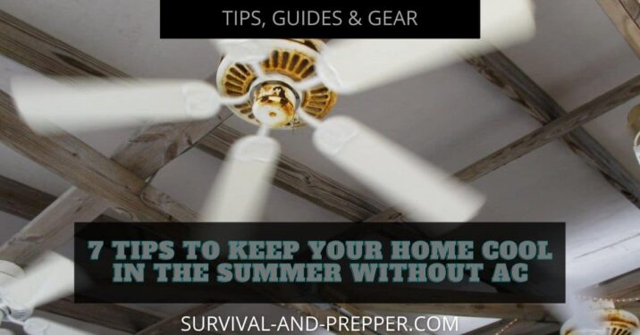 white blade ceiling fan for summer cooling