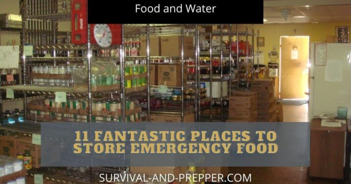 11 places to store food