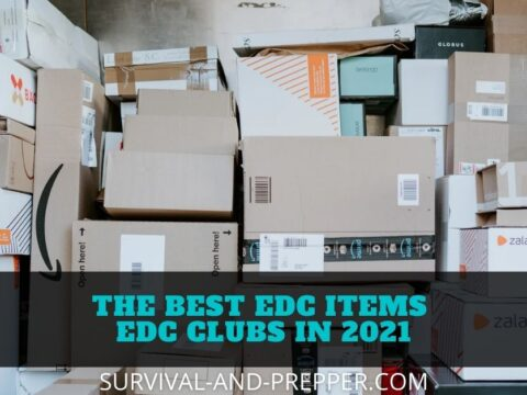 Shipping packages, representative of edc club boxes