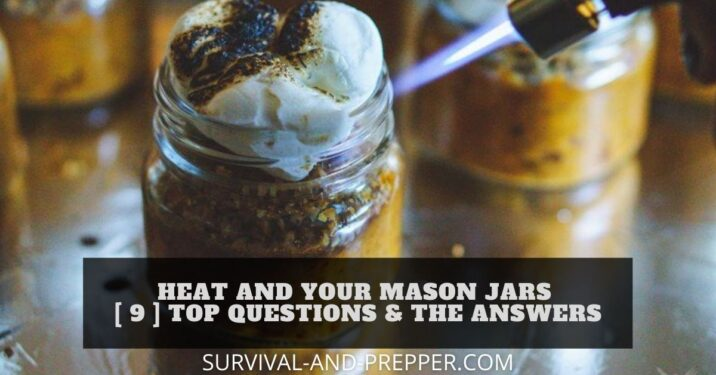 heat and mason jars